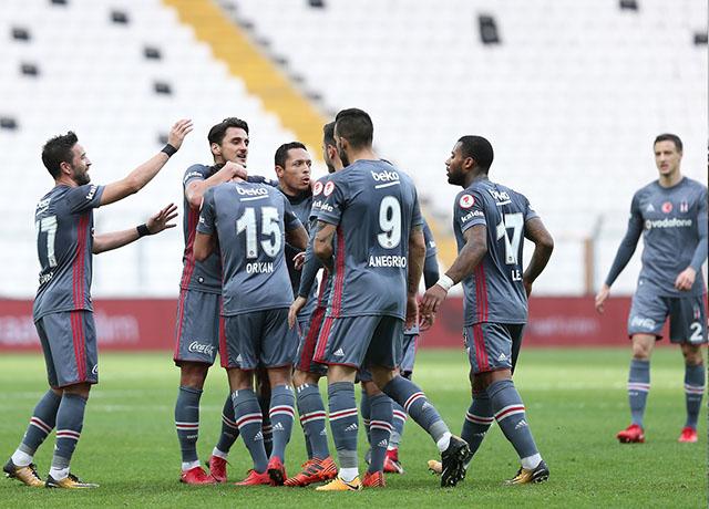 Beşiktaş'tan kupada tarihi fark!