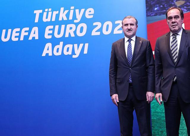 Türkiye EURO 2024 turnuvası için düğmeye bastı